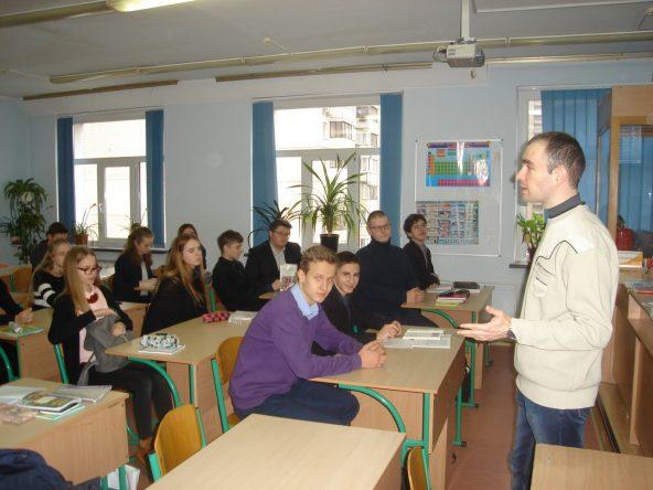 28.11.2017 року відбувся захід з профорієнтації у школах №288, №304 м.Києва