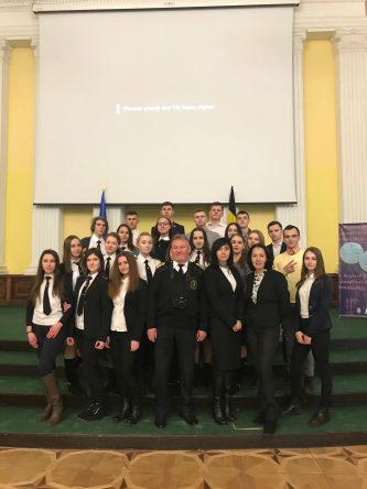 Студенти Юридичного факультету ДУІТ на заході в КМДА.