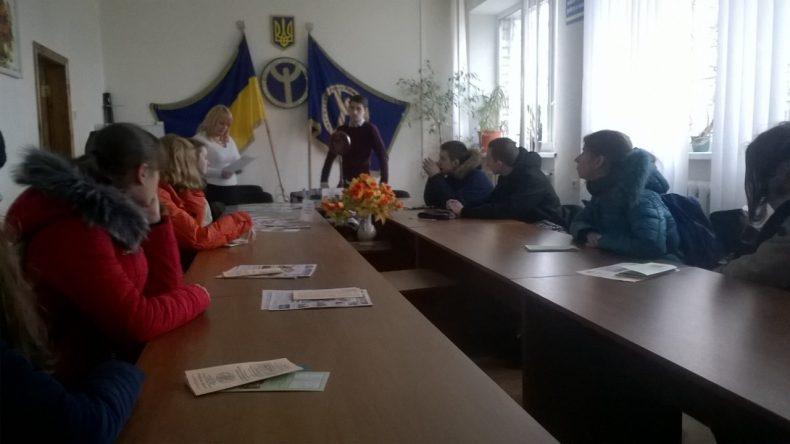 """""""ЯРМАРОК ПРОФЕСІЙ"""" у Вишгородському центрі заянятості."""
