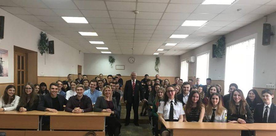 Зустріч з Омельченко Григорієм Ємельяновичем в ДУІТ.