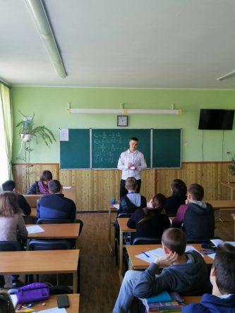 Профорієнтаційна робота у Хорольській школі № 1, №3 та Хорольській гімназії Полтавської області