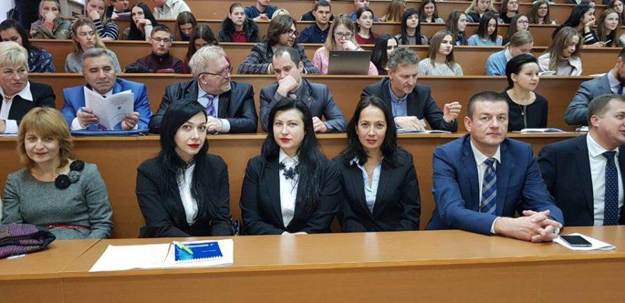 Делегація Юридичного факультету ДУІТ на Міжнародній конференції.