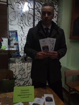 Ярмарка професій м.Васильків за участю доц.Кацавець Р.С.