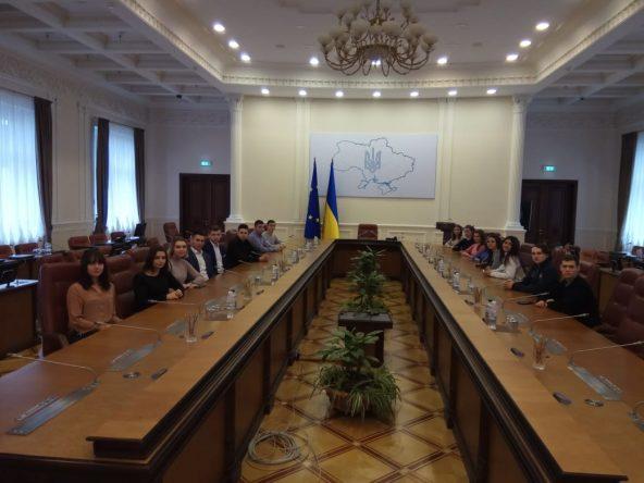 Екскурсія до Будинку Уряду України